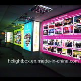 Airport Advertising Fabric Display Poster Frame LED Poster Light Box