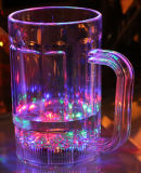 Large Capacity Handle Wine Glass Cup/LED Beer Glass Cup to Celebrate