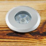 1.5W DC12V Recessed LED Underground Lamps Aluminum IP67 Long Lifespan Packs Decotation LED Garden Light Outdoor