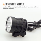 CE Approved Aluminium Easily Installed Bicycle Front Light for Outdoor and Camping