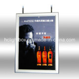 Double Side Slim LED Light Box with Aluminum Frame