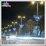 Commercial LED Outdoor Pole Decoration Christmas Street Light