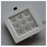 4.4USD 9W Square (Right angle) Nature White LED Ceiling Light
