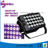24*15W Outdoor LED Wall Washer LED PAR (HL-028)
