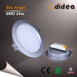 Round 190mm 24W Recessed LED Down Light