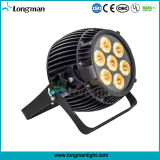 UL 7PCS 15W RGBW Stage Light LED for Party