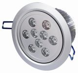 9*1W Dimmable LED Downlight / Ceiling Light (YJT-9039)