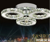 Modern Silver 3 Lights LED Ceiling Light