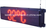 Outdoor Red Color LED Scrolling Display