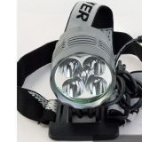 6000 Lumen 5 X CREE Xm-L T6 LED Bike Light Bicycle LED Headlamp Headlight Waterproof Aluminum Alloy
