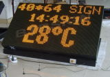 LED Traffic Display Outdoor LED Moving Message Display (BO-40*64P20Y)
