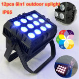 Waterproof Disco Light/ 15W X 12PCS 6in I RGBWA UV IP65 Outdoor LED PAR Stage Light
