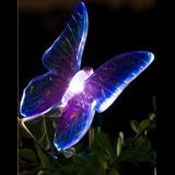 LED Solar Butterfly Stick Light for Garden Decoration