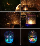 Projection LED Night Lamp with Beautiful Colors in The Night