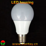 A60 Lighiting Fixture 7 Watt Bulb LED Cup Housing