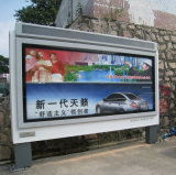Outdoor Backlit LED Scrolling Advertising Light Box