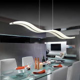 2015 Modern 38W White Acrylic LED Chandelier for Dining Room