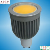 7W Thick Aluminium Alloy COB GU10 LED Spotlight