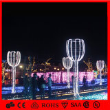 Outdoor Christmas Decorations Rope 3D Holiday LED Holiday Light