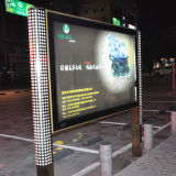 Indoor and Outdoor LED Advertising Scrolling Mobile Light Box