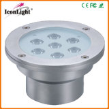 LED Outdoor Light for Underground with Stainless Steel Housing (ICON-D002A-7*3W)