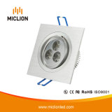 3W Ceiling Aluminum LED Down Light
