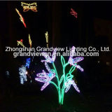 LED Xmas Lights for Garden Holidaydecor Butterfly and Flowers
