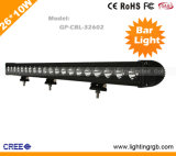 26*10W CREE IP67 LED Bar Light/ LED Work Light/ LED Car Light