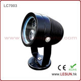 Silver/Black 3W IP65 Underwater LED Pool Light for Outdoor Lighting LC7003