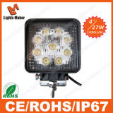 Promotion Lml-0727 27W LED Worklight 4'' Square Auto Parts LED Driving Light SUV ATV off Road ATV Parts 27W LED Work Light