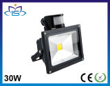 PIR Motion Sensor 30W LED Flood Light for Garden