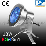 Tricolor LED Underwater Spot Light with Tripod (JP95566)