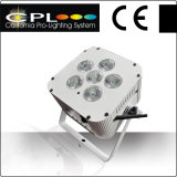 6X12W RGBWA Rechargeable New Product 2014 Stage Light Hot Sell China Battery Powered LED Flat PAR