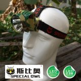 0.8W 1W LED Headlamp, 1PC* Li-Poly Battery Camping Outdoor Coal Miner Lamp Mining Headlamp