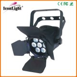 RGB 3in1 LED PAR Light for Show with Baffle (ICON-A012-7*3W)