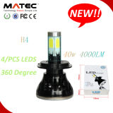 New Excellent Quality 8000lm H4 H/L LED Headlamp for Auto