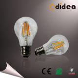 4W E27 B22 Light LED Filament Bulb with CE/RoHS Approved