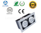 Lt 14W Double LED Grille Lamp/Down Light