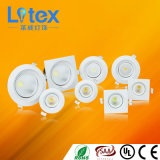 3W 6W 9W Pkw Aluminium LED COB Down Light (LX535/9W)