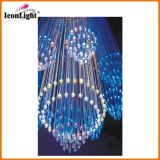 Hot Sell Fiber Optic Chandelier with Crystal (ICON-FC-07)