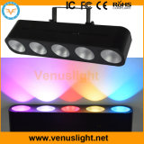 5X15W RGB 3in1 COB LED Wall Washer, Pixel Control