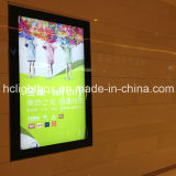 Wall Mounted LED Aluminum Magnetic Light Box