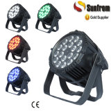 Waterproof Outdoor 18X10W RGBW 4in1 Disco LED PAR Light