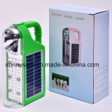 2015 Rechargeable Portable Outdoor LED Solar Camping Flashlight