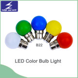 E27/B22 PP Material LED Colorful Bulb Light