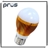 Aluminium 3W LED Globe Light Bulbs