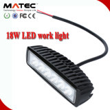 18W Flood Beam Work LED Light Lamp off-Road SUV 4X4 4WD Truck Car Work Light