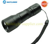 High Power Cree 3w LED Aluminum Flashlight With Dry Battery