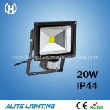 CE RoHS Epistar 20W Outdoor LED Sensor Flood Light