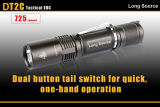 High Efficiency Long Lifespan 725lm LED Flashlight